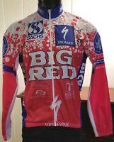 Le Sportif Trad Sportswear Cycling Featherweight Nylon Zip Windbreaker Jacket Md