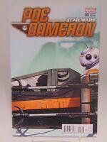 POE DAMERON #1 VARIANT COVER STAR WARS MARVEL COMIC VF/NM CB567