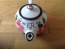 Wemyss Griselda Hill Ltd Ed Small Teapot Queen Elizabeth 11 (1952-2002 ) 29/100