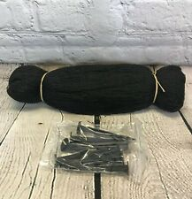 More details for selections protective pond cover netting 8 pegs 4m x 3m heron, leaf protection