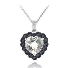 Halsketten und Anhänger mit Spinell Liebe & Herzen mit echten Edelsteinen