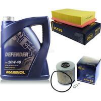 Ölwechsel Set 5L MANNOL Defender 10W-40 Motoröl + SCT Filter KIT 10128714