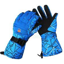 Men Winter Warm Waterproof -35℃ Snow Motorcycle Snowmobile Snowboard Ski Glove
