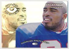 Tiki Barber #15 1997 Donruss Preferred Stare Master Staremaster 921/1500 Giants