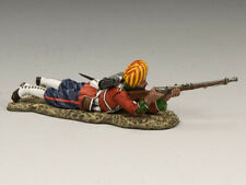 KING & COUNTRY SONS OF EMPIRE SOE007M LUDHIANA SIKHS REGT. PRONE FIRING RIFLE