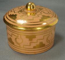 BRENA-Oaxaca, Mexico  Peach & Gold Round Trinket Box – MCM RARE