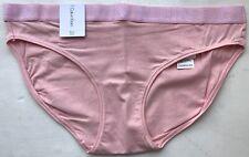 Calvin Klein Bikini para mujer Algodón último-Rosa-XS-QD3637E-EVK