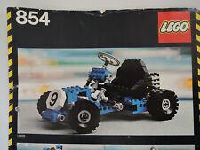 LEGO Nr. 854 Technic  Go-Kart Trike  100 %  kpl. + Anleitung    TOP