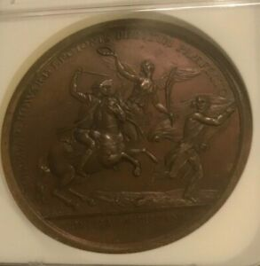 John Egar Howard  Bronze comitia americana mint medal NGC MS63 BN