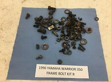 96 YAMAHA WARRIOR 350 YFM350 YFM FRAME BOLTS KIT MISC NUT BOLT WASHER R