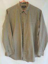 EUC Men's BRANDINI Button Down sz LT 2XLT Large Tall L/S Dress Shirt