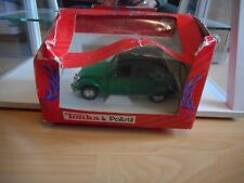 Polistil Citroen 2CV in Green on 1:25 in Box