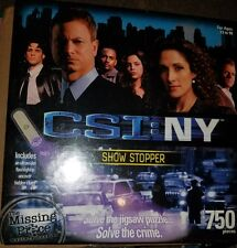 CSI New York : Show Stopper [750 Piece Puzzle] New and Sealed