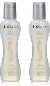 Biosilk Silk Therapy Serum! Original - 2.26 fl oz Each (TWO PACK)