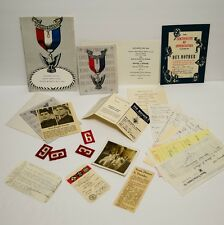 Vintage Boy Scouts of America Paper Items, photo card program