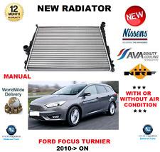 FOR FORD FOCUS TURNIER RADIATOR 2010->ON MANUAL ESTATE 1.6 2.0 OE QUALITY