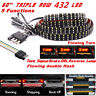 2835SMD 60'' Triple Row 5 Functions Flowing Turn Signal/Brake/DRL/Flowing Light