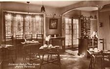 Interior Dutch Tea House North Foreland Nr Broadstairs RP old pc used 1932 Wynne