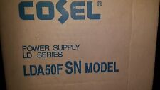 1x COSEL LDA50F-5-SN , AC/DC Power Supply Single-OUT 5V 10A 50W , NEW
