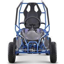 MotoTec Maverick 36V 1000w Electric Go Kart - Blue. Pre Built