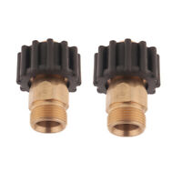 2PCS M22 Washer Fitting High Pressure Cleaner Accessories Water Hose Adapter