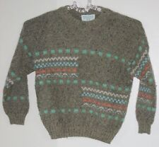 UNITED COLORS OF BENETTON Size S Brown Pullover Sweater (Made in Italy)