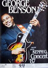BENSON, GEORGE - 1987 - Konzertplakat - Concert - Tourposter - Mannheim