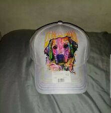 NWT THE MOUNTAIN DEAN RUSSO COLLECTION GOLDEN RETRIEVER BASEBALL HAT ONE SIZE