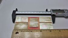 5 pieces Inlay material Gold mother of pearl shell blanks (38mmx25mmx1.5mm).