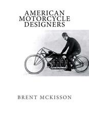 American Motorcycle Designers Book~Profiling noteworthy Designers~New!