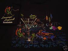 "*Michael Godard-""LOUNGE LIZARD"" Las Vegas-Retro-Martini-Bar T-Shirt-Size Large*"