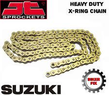 Gold Xring Chain and Sprocket kit Suzuki GSX750 F K-W GR78A 89-98