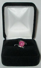 Pink star sapphire ladies ring sizes 5,6,7,8,9,10, for sale SWJ BRAND
