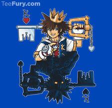 The Kingdom Heart of Heartless Sora/Keyblade Disney Final Fantasy TEEFURY SHIRT!