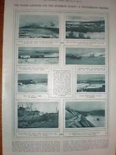 Photographs Allied Landing Murman coast Russia 1918