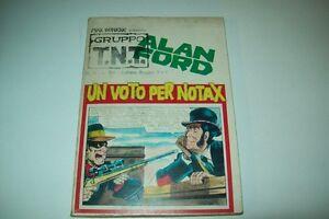 GRUPPO TNT-ALAN FORD-MAGNUS&BUNKER-NUMERO 16-UN VOTO PER NOTAX-EDITORIALE CORNO