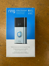 NEW RING WIRE FREE WLAN VIDEO DOORBELL WITH WIFI AND CAMERA