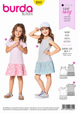 Sewing Pattern 9341 Child Dress