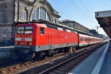 PHOTO  GERMAN RAILWAY -  DB CLASS 1430 NO 143 624 AT NURNBERG HBF ON A PUSH- V2