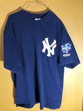 New York Yankees Derek Jeter #2 World Series Champions 2000 T Shirt Mens Medium