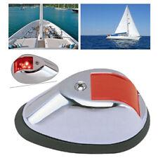 1x Stainless Steel Red Marine Boat Yacht Stern Navigation Light 12V LED NAV Lamp