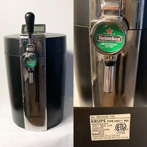 Krups Beertender Mini Beer Keg Dispenser Cooler Kegerator VB51 B95