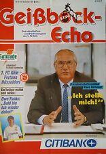 Programm 1991/92 1. FC Köln - Fortuna Düsseldorf
