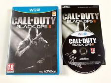 Call of duty black ops ii 2 COD en OVP-Nintendo Wii U