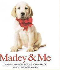 Marley & Me  Soundtrack by Theodore Shapiro (CD, 2008,Lakeshore) LIKE NEW!