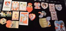 Lot of 17 of antique vintage & vintage Valentines Art Deco mechanical (If-X)