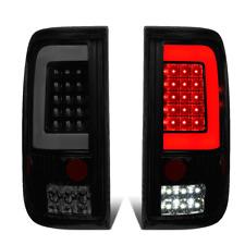 For 04 to 08 Ford F150 Lobo LED C-Tube Bar Tail Brake Light Reverse Lamp Tinted