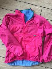 vtg PATAGONIA Mens XL Jacket GLISSADE Reversible Pink/Blue Fleece Shell Jacket