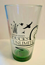 Shelby County Ohio Fort Loramie - Sidney Ducks Unlimited Beer Pint Glass