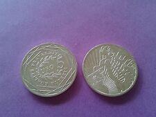 5 euros argent semeuse 2008 (sous étui cartonné)